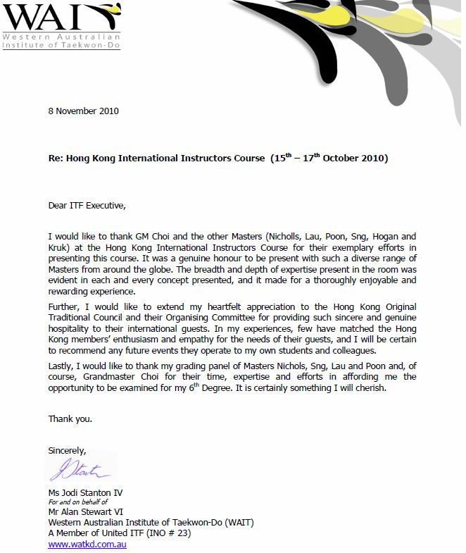 Thank You Letter For Help And Support from www.itf-administration.com